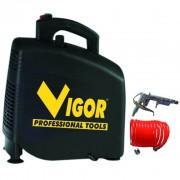 Compressore aria vigor vca-zero trasmissione diretta oil-less - 220v - hp.1,5