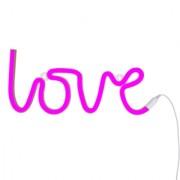 A Little Lovely Company Neonska lampa – Love Pink