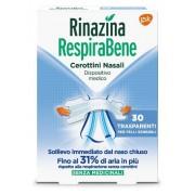 Glaxosmithkline C.Health.Spa Rinazina Respirabene Cerotti Nasali Trasparenti Carton 30 Pezzi