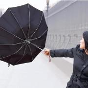 Umbrela rezistenta la vant puternic