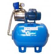Pentax házi vízmû, vízellátó rendszer MPX 120/5+50L hidrofor tartály+PM/5 nyomáskapcsoló 230V