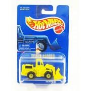 1990 Hot Wheels #3 Wheel Loader (Yellow) (Yellow CT Wheels) in Protecto Pak