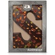 Australian Luxe Chocoladeletter Puur - letter S - 5 x 190 gram