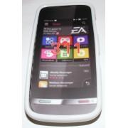 Силиконов гръб ТПУ за Nokia Asha 311 Бял