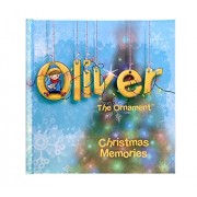 Christmas Memory Journal - Oliver the Ornament Inspired Christmas Memories Logbook - Record All Your Family Memories and Cherish your Own Special Holiday Stories
