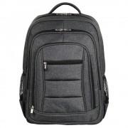 """Backpack, HAMA Business 15.6"""", с метален цип, Сив (101578)"""