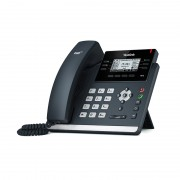 Yealink SIP-T41S, IP Phone, PoE in, tamno siva, 12mj