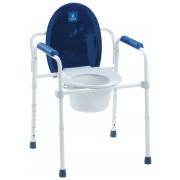 Thuasne Sedia comoda WC 3 in 1 per disabili e anziani