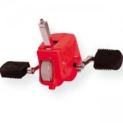Допълнителни педали за колело за баланс - Червени - JD Bug, MAS-S002-red
