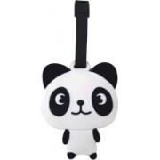 Super Drool Lil Panda Luggage Tag(Black)