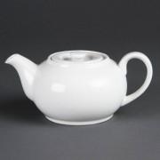 CHRselect Pot à Thé Blanc - Olympia - 462ml - 4 Pièces