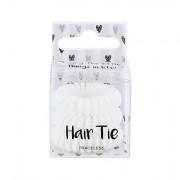2K Hair Tie Spiral-Haargummi 3 St. Farbton White für Frauen
