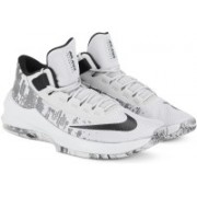 Nike �AIR MAX INFURIATE 2 MID Running Shoes For Men(White)