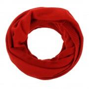 Les Poulettes Bijoux Echarpe Tube 100 % Cachemire 2 Fils Colors - Rouge