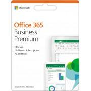 MICROSOFT Office 365 Business Premium Retail, KLQ-00388, Engleski jezik, godišnja pretplata za jednog korisnika