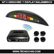 Kit 4 Sensores y Pantalla LED - INALAMBRICO
