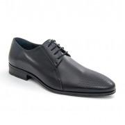 Pantof elegant barbat LEOFEX cod 743 NEGRU
