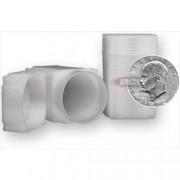 Square Large Dollar Coin Tube(Qty=100 Tubes)