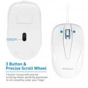 Macally TurboC Mouse - USB-C оптична мишка за PC и Mac