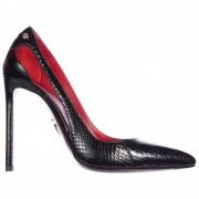Cesare Paciotti Decolletes decoltè scarpe donna con tacco pelle ayer