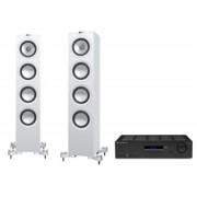 Pachete PROMO STEREO - KEF - Q550 + Cambridge Audio Topaz SR20 Satin Black