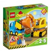 LEGO DUPLO Camion & excavator pe senile L10812
