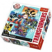 Puzzle Transformers 4 in 1