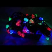 Instalatie Luminoasa Craciun Snur 4m 40LED RB Striatii Multicolor FN P 8006
