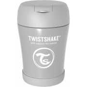 Twistshake Matburk 350ml, Grå