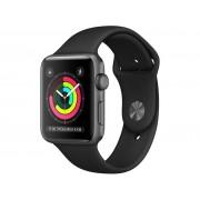 Умные часы Apple Watch Series 3 38mm Space Grey Aluminum Case with Black Sport Band