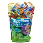 Nickelodeon Paw Patrol, Shimmer & Shine and Teenage Ninja Turtle Easter Egg Hunt Eggs Filled with Candy and Stickers!