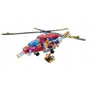Cra-Z-Art Lite Brix Rescue Copter Vehicle