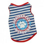 TOOGOO(R) ToogooR Pet Puppy Small Dog Cat Pet Clothes Vest T Shirt Apparel Clothes L 18