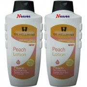 Peach Body Lotion For Soothing Of Skin(Pack Of 2) 1300G