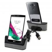 5V / 1a Desktop USB Cable De Sincronizacion Cuna Station Dock Charger Con Ranura De La Bateria Para LG G4