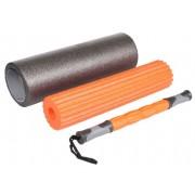 Foam Roller valjak za masažu s 3 različita valjka
