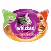 Whiskas Temptations snacks para gatos - Salmón (72 g)