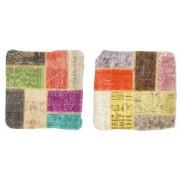 Patchwork Kuddfodral 2-pack 50x50 Orientalisk