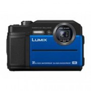 Panasonic Digitální fotoaparát Panasonic DC-FT7EG-A, 20.4 MPix, Zoom (optický): 9 x, modrá, černá