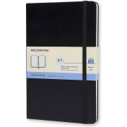 Moleskine Notes Moleskine Art Plus Sketchbook L twarda oprawa czarny