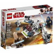 Lego star wars battle pack jedi e clone troopers 75206