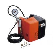 Compresor aer comprimat Black+Decker Cubo 8 bari, portabil, accesorii incluse