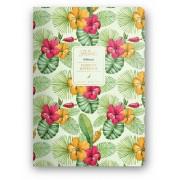 Dolce Blocco Florette Notebook A5, Hibiscus