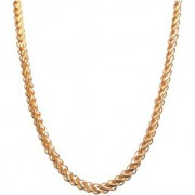 Xoonic's Gold plated chain necklace 10 mm thick/20 Inch Long chain for Men/Boys-XCFL-7