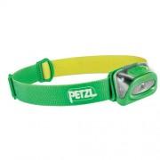 Lanterna Cap Petzl Tikkina Verde 80lm 3xAAA