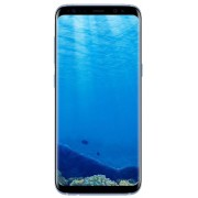 "Telefon Mobil Samsung Galaxy S8 G950F, Procesor Octa-Core 2.3GHz / 1.7GHz, Super AMOLED Capacitive touchscreen 5.8"", 4GB RAM, 64GB Flash, 12MP, 4G, Wi-Fi, Android (Coral Blue) + Cartela SIM Orange PrePay, 6 euro credit, 4 GB internet 4G, 2,000 minute nati"