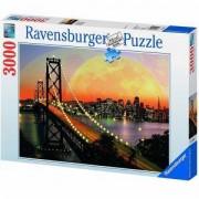 Пъзел Ravensburger 3000 елемента, Сан Франциско през нощта, 705002