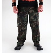 pantaloni uomo BRANDIT - US Ranger Hose Woodland - 1006/10