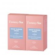 TummyTox Night burner drink intense 1+1 ZDARMA. Přírodní limetková příchuť. 2x 10 sáčků.
