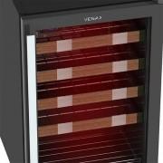Adega PiuBella 100 Litros Color Light Vermelho - Venax Eletrodomésticos